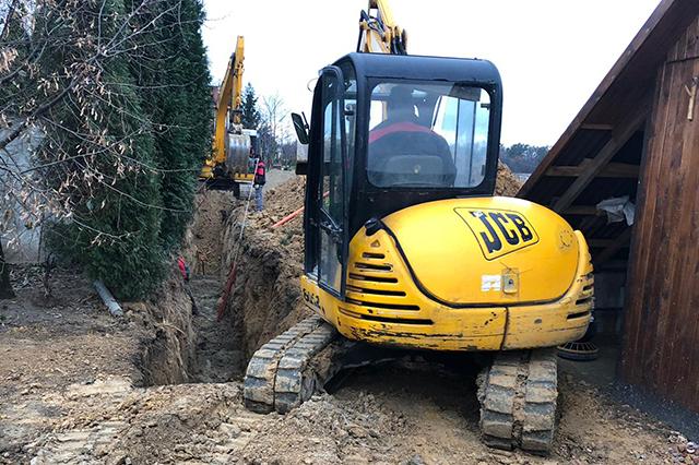budowa kanalizacji
