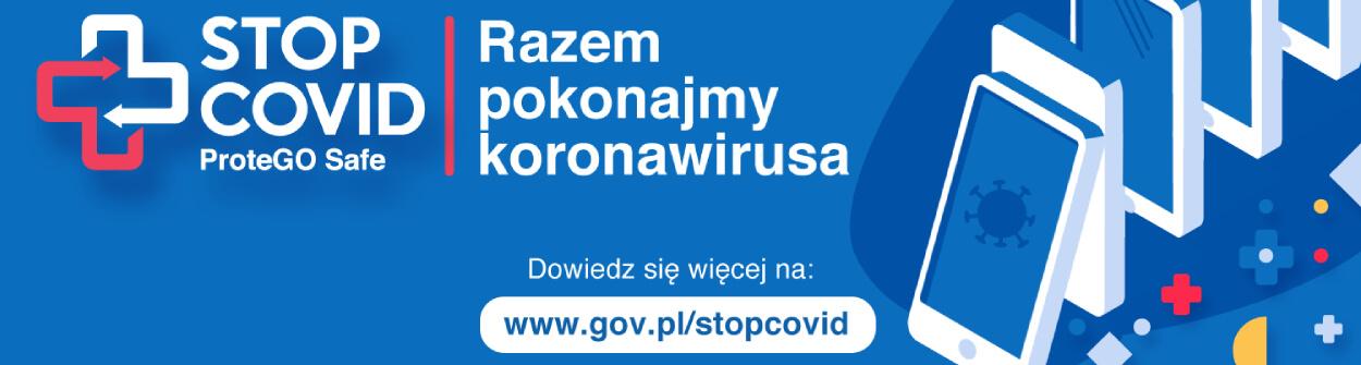 logo aplikacji stop covid