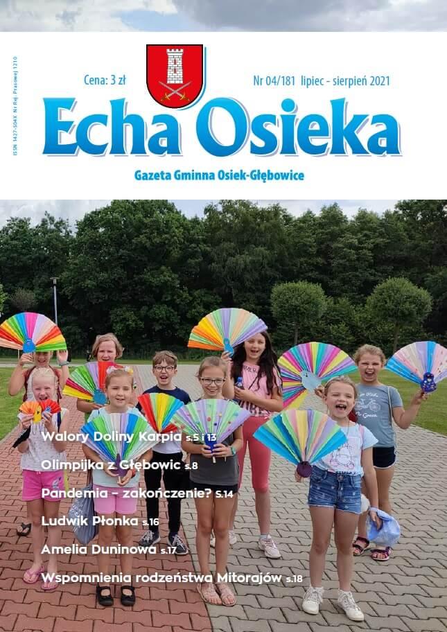 Okłada numeru Echa Osieka